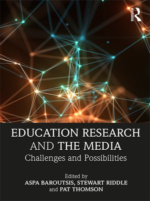 cover image of Education Research and the Media