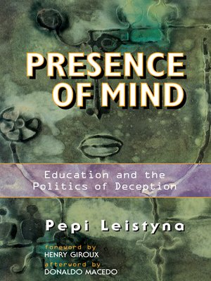 cover image of Presence of Mind
