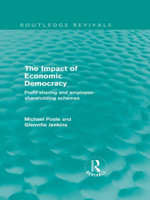 cover image of The Impact of Economic Democracy