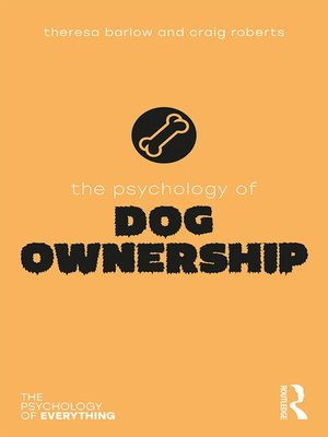 cover image of The Psychology of Dog Ownership