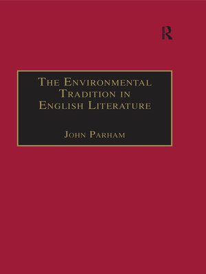 cover image of The Environmental Tradition in English Literature