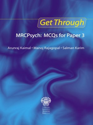 cover image of Get Through MRCPsych