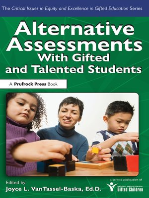 cover image of Alternative Assessments With Gifted and Talented Students
