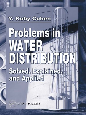 cover image of Problems in Water Distribution