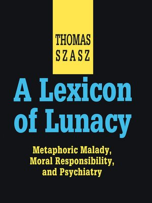 cover image of A Lexicon of Lunacy