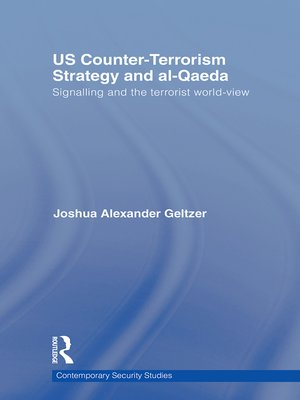 cover image of US Counter-Terrorism Strategy and al-Qaeda