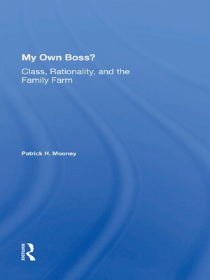 cover image of My Own Boss?