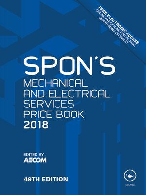 cover image of Spon's Mechanical and Electrical Services Price Book 2018