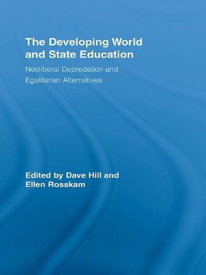 cover image of The Developing World and State Education