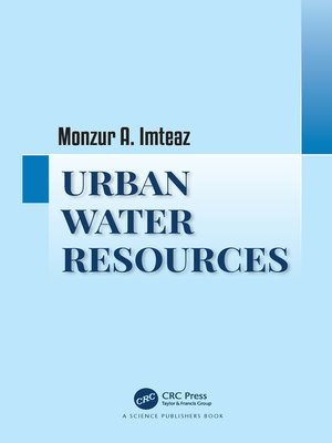 cover image of Urban Water Resources