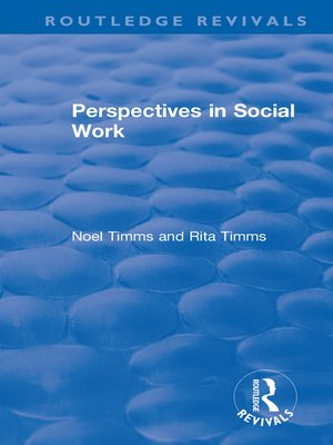 cover image of Perspectives in Social Work
