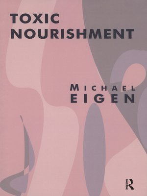 cover image of Toxic Nourishment