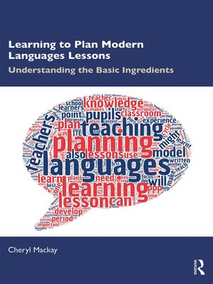 cover image of Learning to Plan Modern Languages Lessons