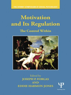 cover image of Motivation and Its Regulation