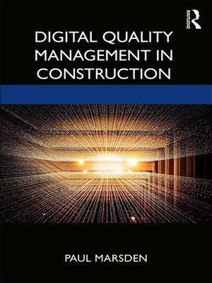 cover image of Digital Quality Management in Construction