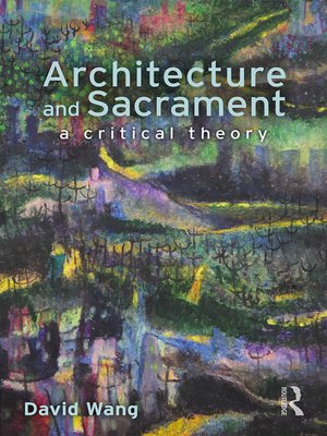 cover image of Architecture and Sacrament