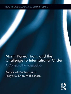 cover image of North Korea, Iran and the Challenge to International Order