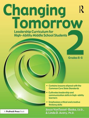 cover image of Changing Tomorrow 2, Grades 6-8