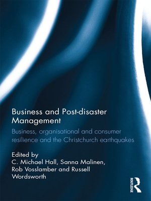 cover image of Business and Post-disaster Management
