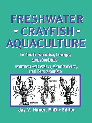 cover image of Freshwater Crayfish Aquaculture in North America, Europe, and Australia