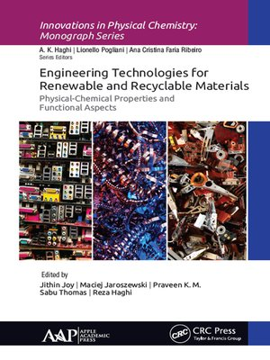 cover image of Engineering Technologies for Renewable and Recyclable Materials