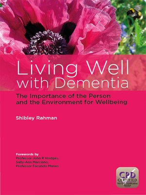 cover image of Living Well with Dementia