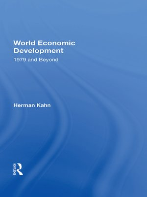 cover image of World Economic Development
