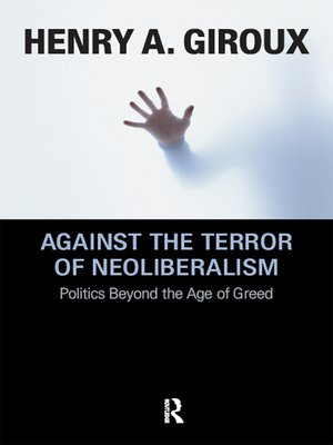 cover image of Against the Terror of Neoliberalism