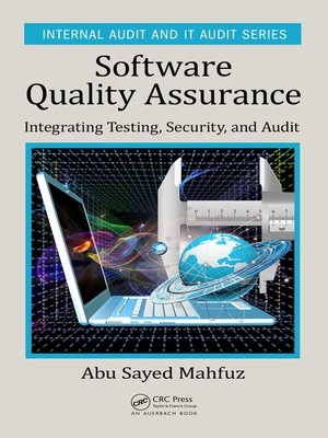 cover image of Software Quality Assurance