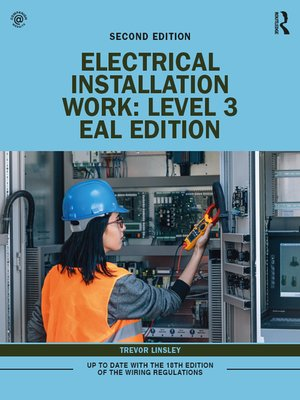cover image of Electrical Installation Work