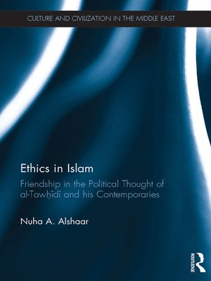 cover image of Ethics in Islam