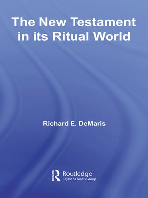 cover image of The New Testament in its Ritual World