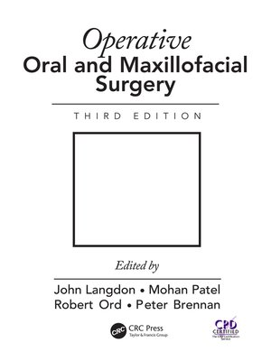 cover image of Operative Oral and Maxillofacial Surgery