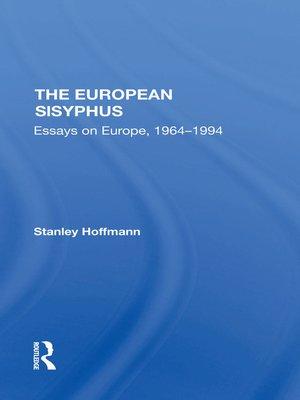 cover image of The European Sisyphus