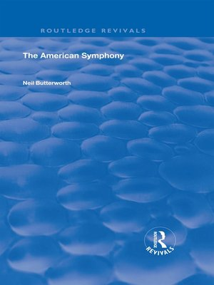 cover image of The American Symphony