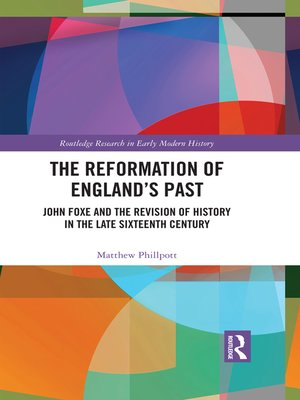 cover image of The Reformation of England's Past