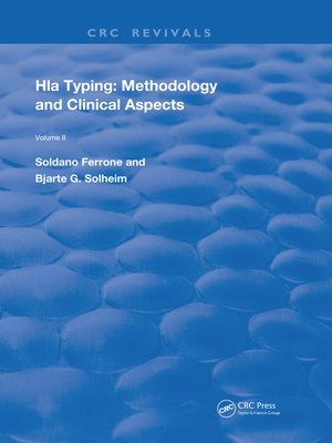 cover image of HLA Typing