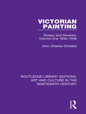 cover image of Victorian Painting