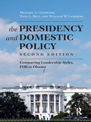 cover image of Presidency and Domestic Policy