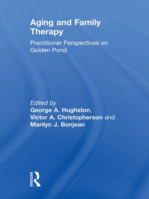 cover image of Aging and Family Therapy