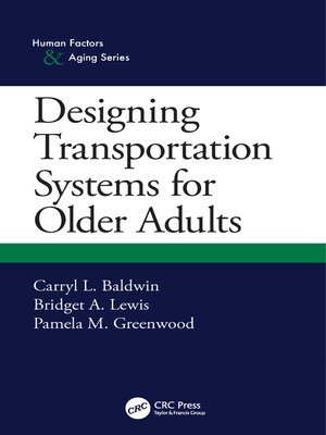 cover image of Designing Transportation Systems for Older Adults