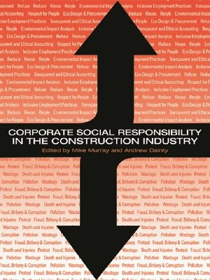 cover image of Corporate Social Responsibility in the Construction Industry