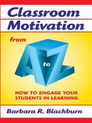 cover image of Classroom Motivation from a to Z