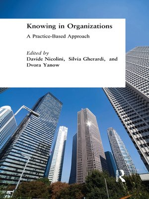 cover image of Knowing in Organizations