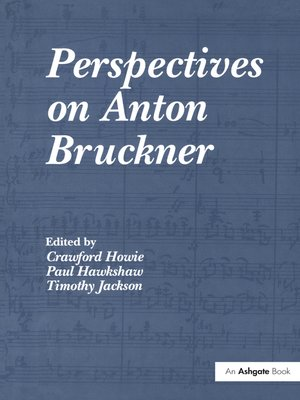 cover image of Perspectives on Anton Bruckner