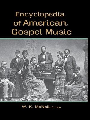 cover image of Encyclopedia of American Gospel Music