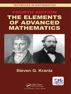 cover image of The Elements of Advanced Mathematics