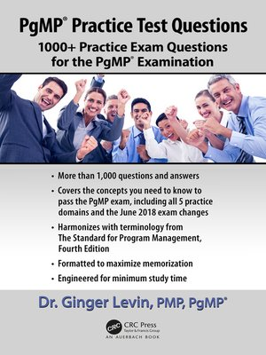 cover image of PgMP® Practice Test Questions