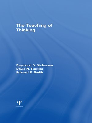 cover image of The Teaching of Thinking