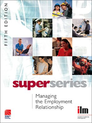 cover image of Managing the Employment Relationship
